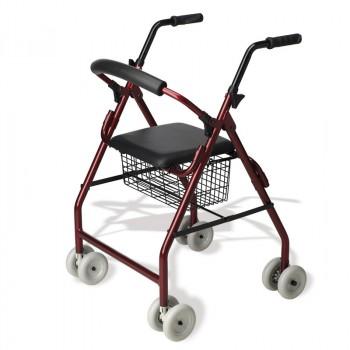 Andadores de 4 ruedas - Rollators