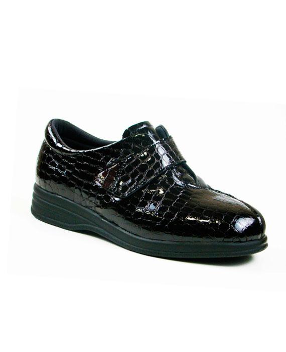 942543 zapato velcro elástico juanete señora