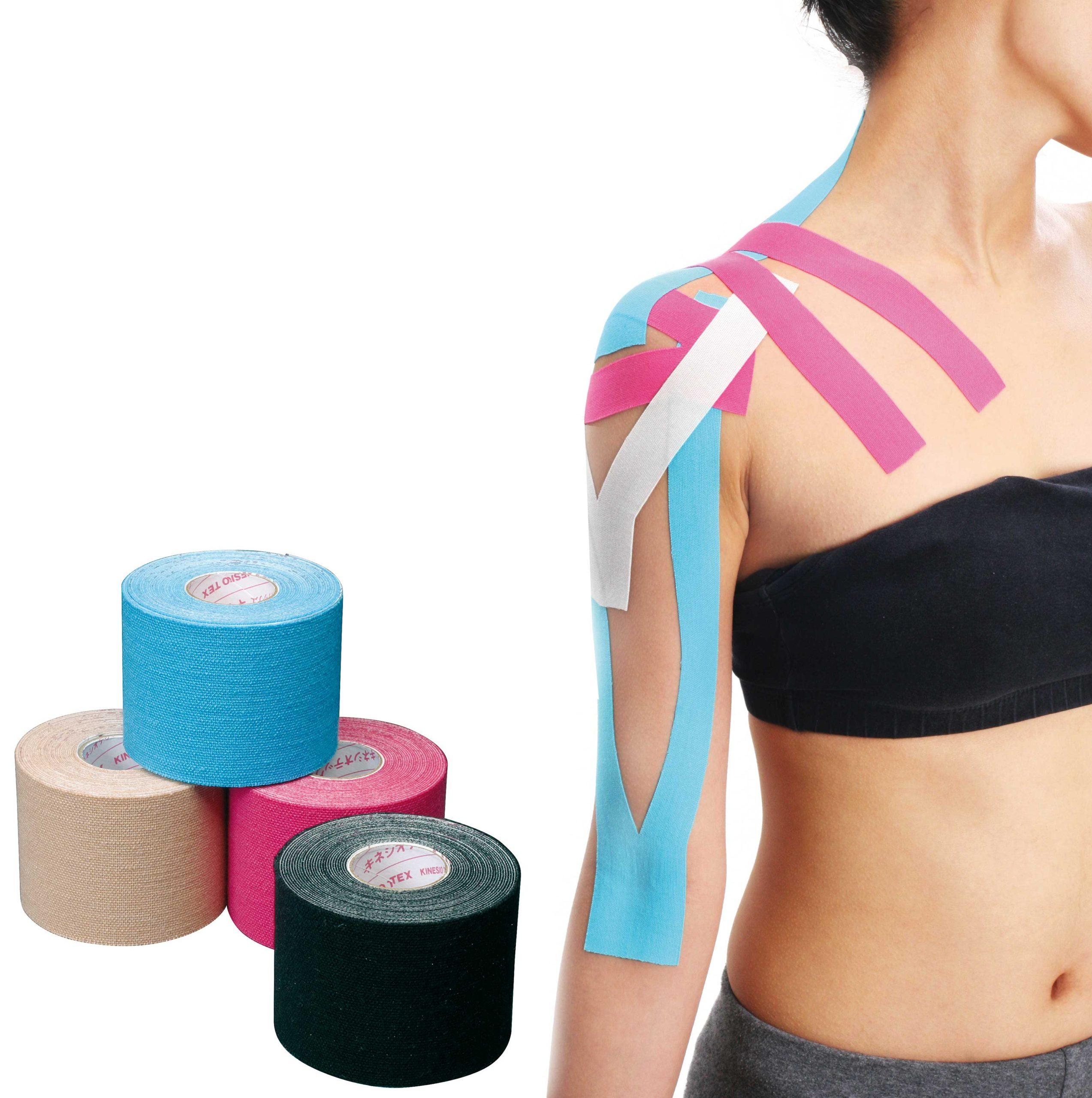 Tapes elásticos adhesivos deportivos y terapéuticos