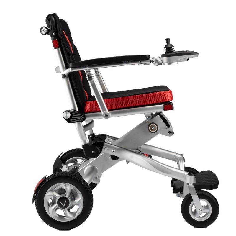 silla de ruedas eléctrica ligera lateral voyager