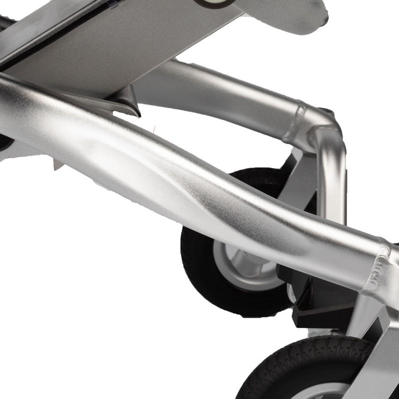 silla de ruedas voyager patas plegables
