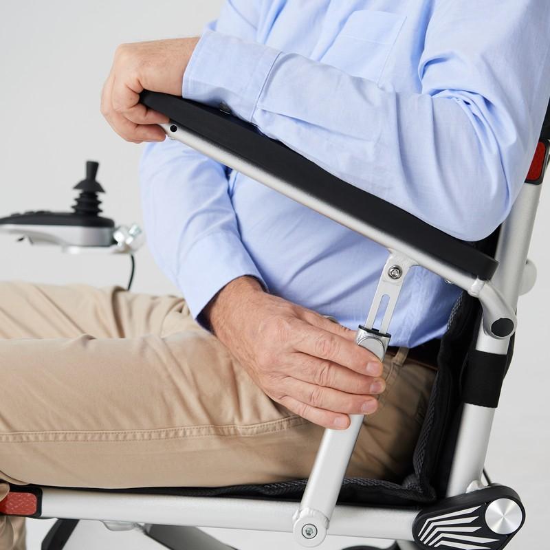 brazo silla de ruedas voyager