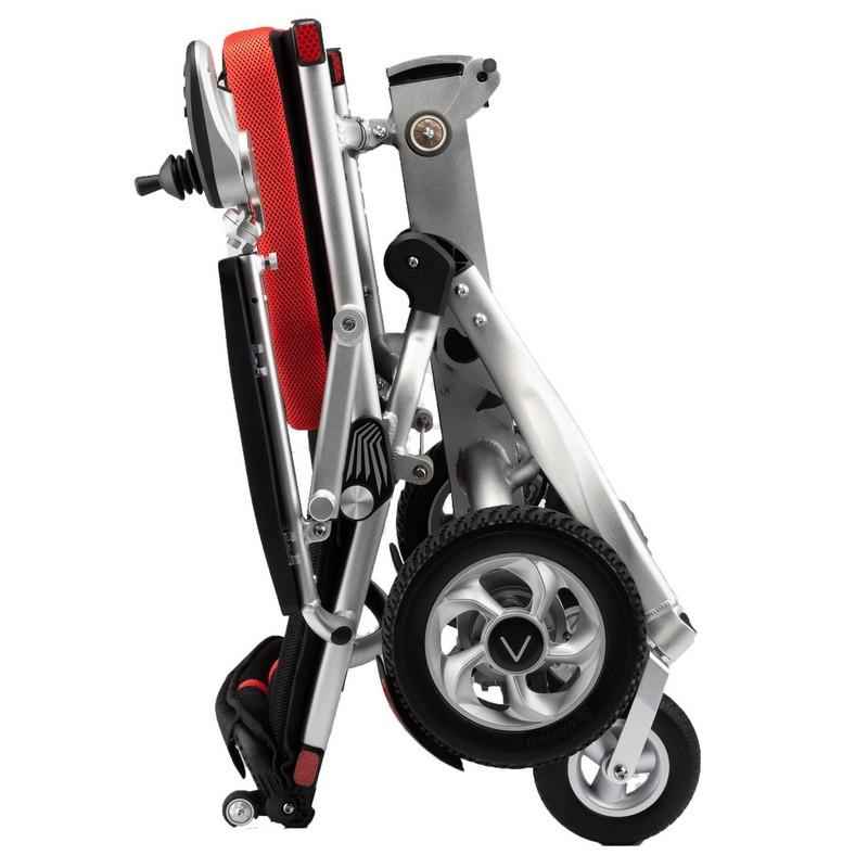 silla de ruedas ligera plegable