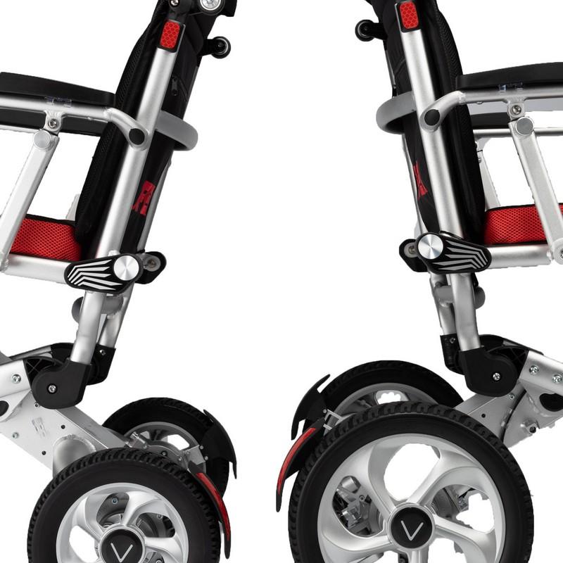 parte trasera silla de ruedas ligera